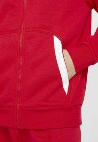 Nike Sportswear - HOODIE - Zip-up sweatshirt - university red black white - 8