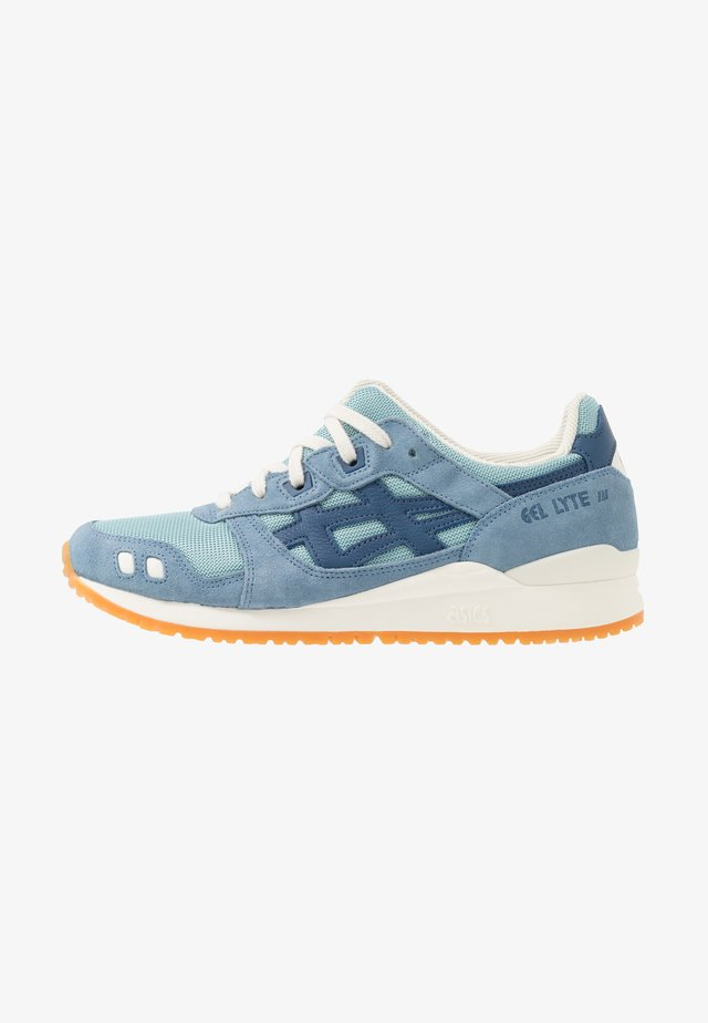 GEL-LYTE III - Sneakersy niskie - smoke blue/grand shark