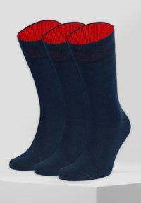 von Jungfeld - KRAFTPAKET - Sokken - blau,rot - 2
