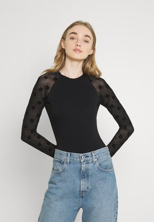 UFBY-RIBEES - Long sleeved top - black