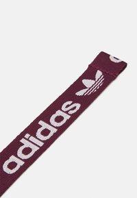 adidas Originals - ADICOLOR BACKPACK UNISEX - Reppu - rose tone/victory crimson/white - 3