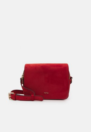 CROSSBODY BAG ZINNIA - Olkalaukku - brick red