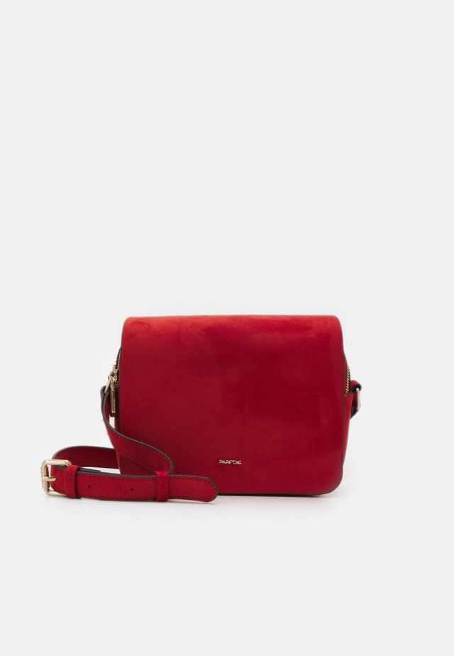 CROSSBODY BAG ZINNIA - Across body bag - brick red