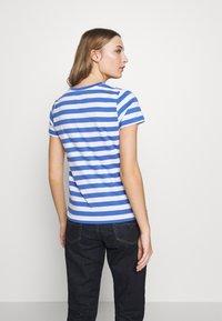 Polo Ralph Lauren - T-shirt imprimé - white/indigo sky - 2