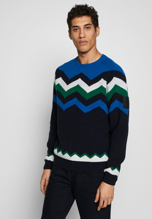 MOUNTAIN - Maglione - salute blue