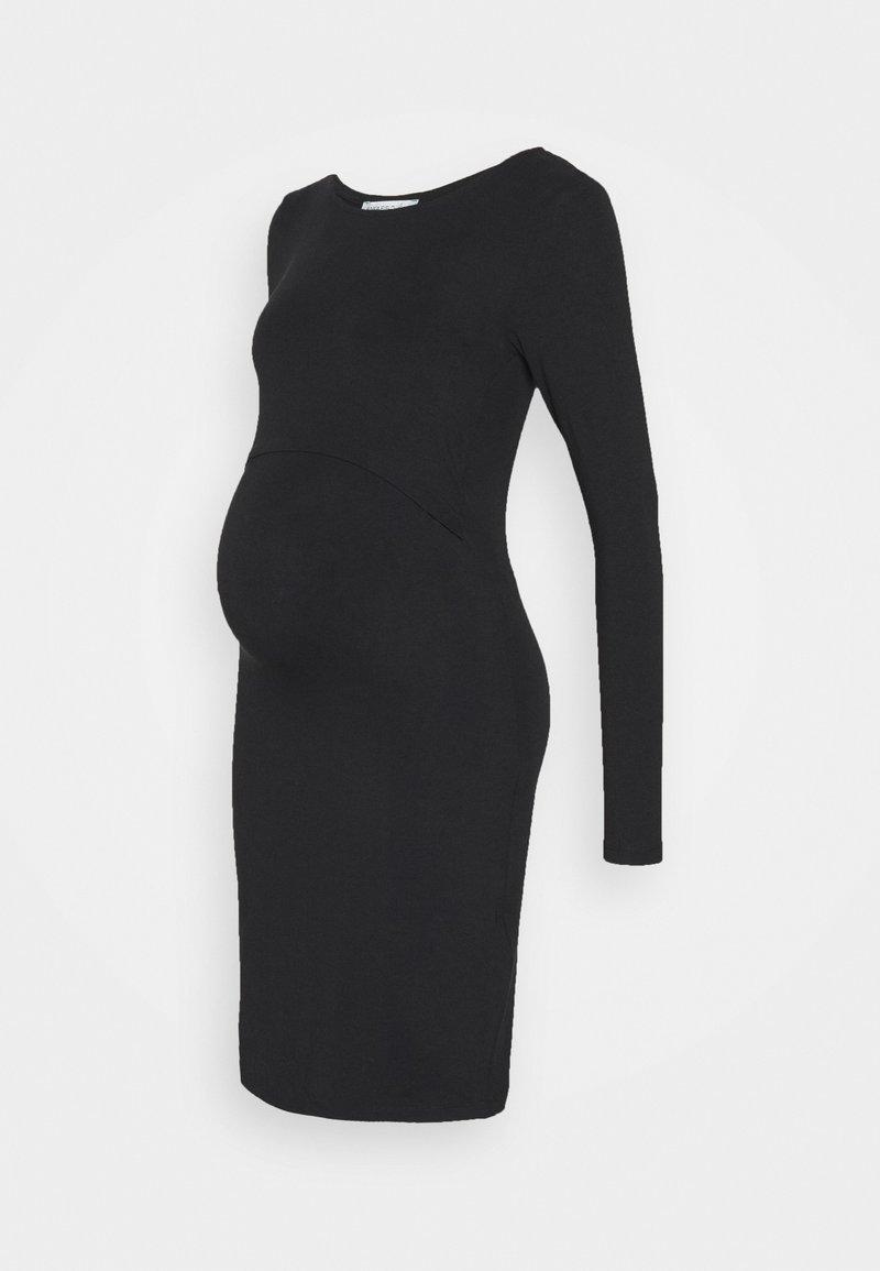 Anna Field MAMA - NURSING FUNCTION dress - Žerzejové šaty - black