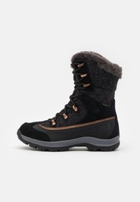 Jack Wolfskin - ASPEN TEXAPORE HIGH  - Winter boots - black/dark grey - 0