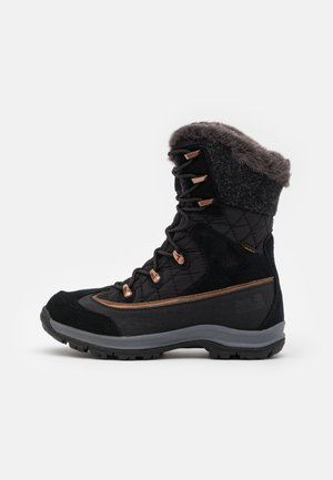 ASPEN TEXAPORE HIGH  - Vinterstøvler - black/dark grey