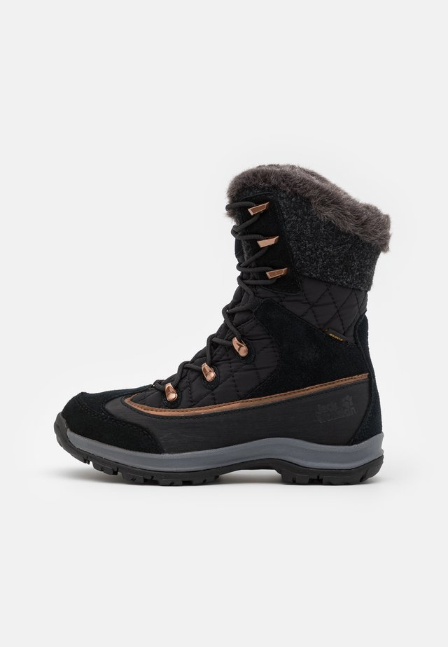 ASPEN TEXAPORE HIGH  - Talvisaappaat - black/dark grey