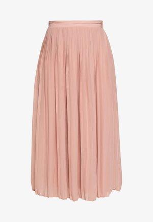 VIPLISSEA MIDI SKIRT - A-line skirt - misty rose