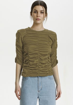 ARIANAGZ  - Print T-shirt - capers