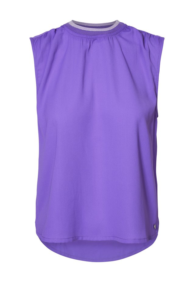 Blouse - electric purple
