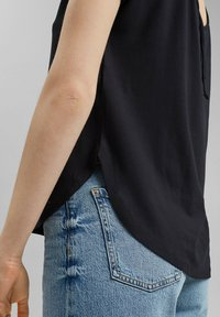edc by Esprit - Print T-shirt - black - 5