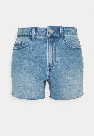 VIALEKSIA GRACI  - Denim shorts - medium blue denim