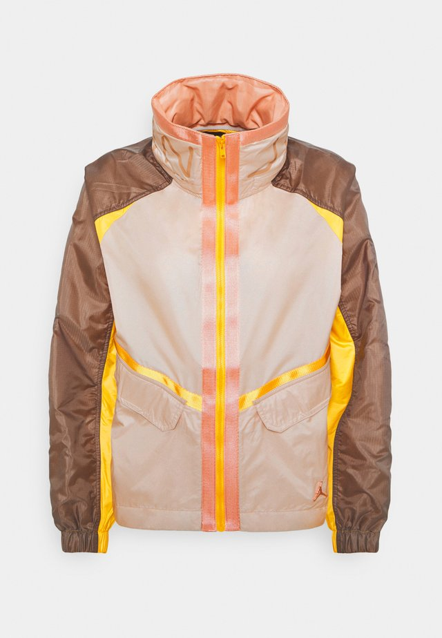 FUTURE - Summer jacket - particle beige/ironstone/red bronze