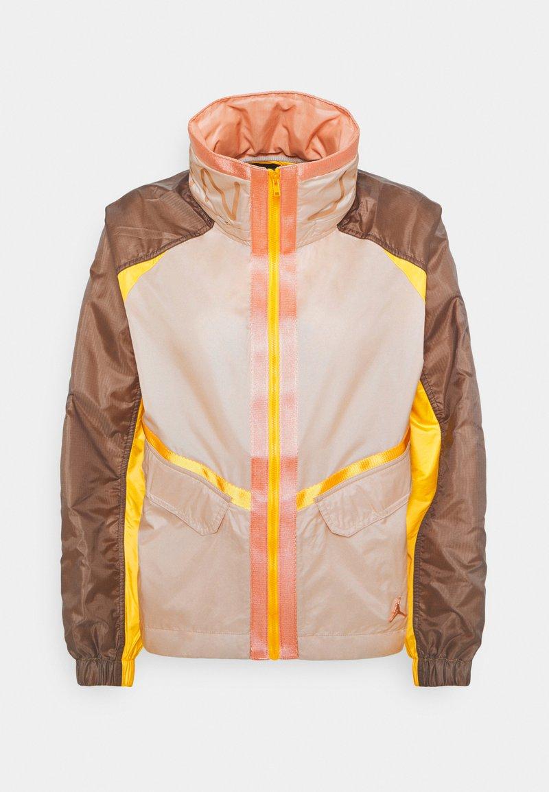 Jordan - FUTURE - Summer jacket - particle beige/ironstone/red bronze