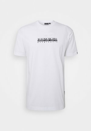 BOX UNISEX - Print T-shirt - bright white