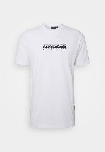 BOX UNISEX - Print T-shirt - bright white