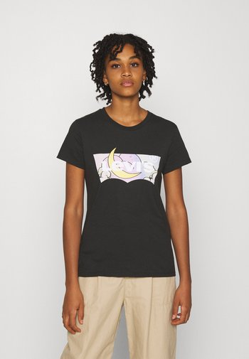 THE PERFECT TEE - T-shirts med print - caviar