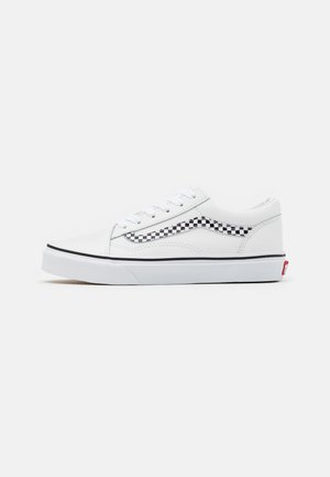 OLD SKOOL UNISEX - Sneakers laag - true white/black