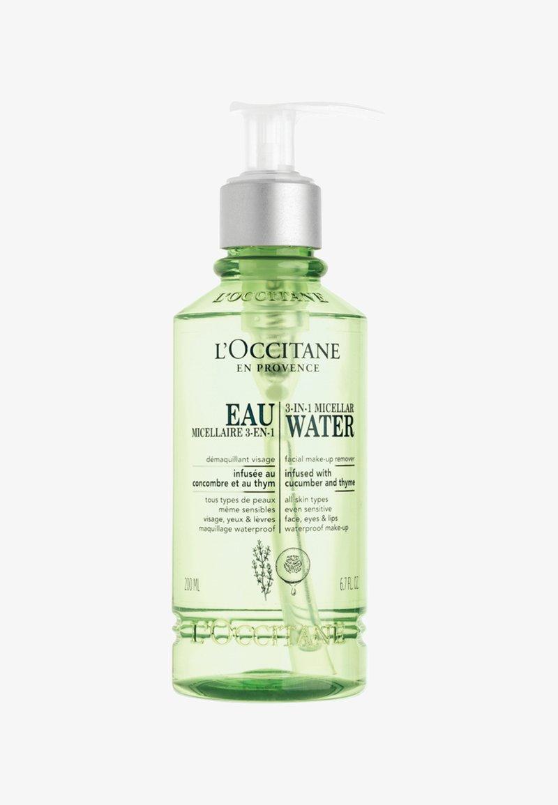 L'OCCITANE - 3-IN-1-MICELLAR WATER - Makeup remover - -