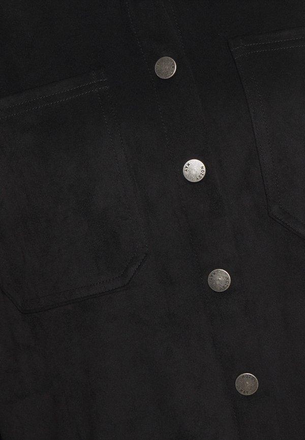 Noisy May NMHALO HILL - Koszula - black/czarny XCZL