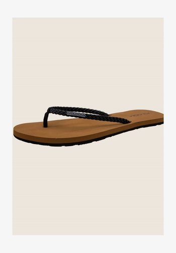 WEEKENDER SNDL - T-bar sandals - black