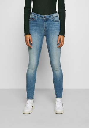 NORA - Jeans Skinny Fit - dynamic mira mid blue