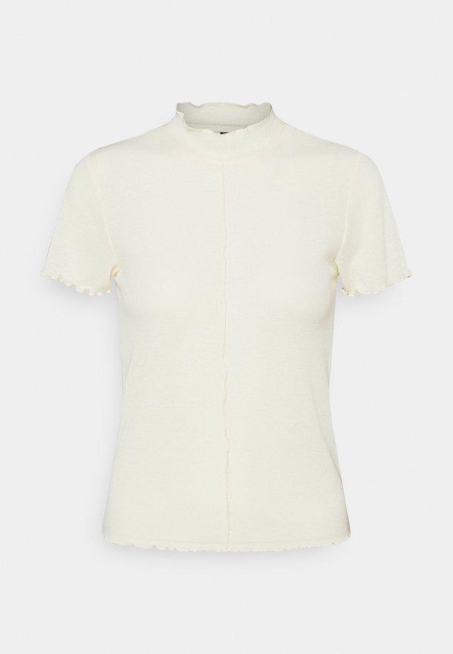 PCLOANA TEE  - T-shirt basic - almond oil
