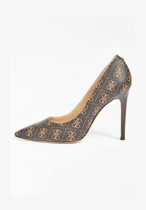GAVI 4G LOGO - Zapatos altos - braun