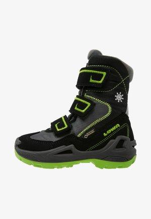 MILO GTX - Winter boots - schwarz/limone