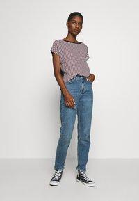 Esprit Collection - TEE WITH  - T-shirt z nadrukiem - black - 1