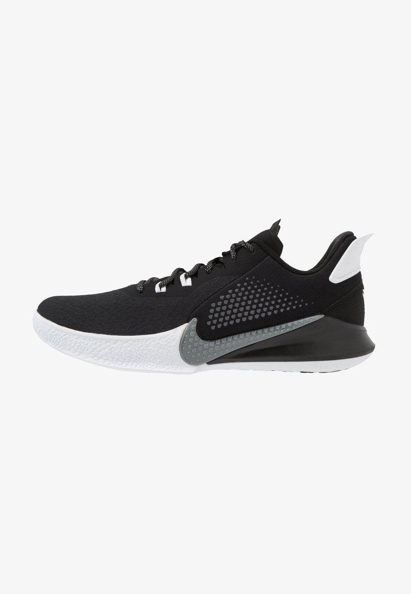 Nike Performance - MAMBA FURY - Basketbalové boty - black/smoke grey/white
