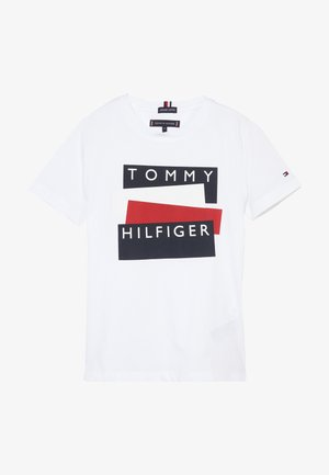 STICKER TEE  - T-shirts med print - white