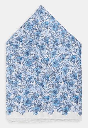 FLORAL POCKET SQUARE - Taskuliina - blue