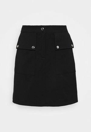 VMSIGRID SKIRT - Spódnica mini - black