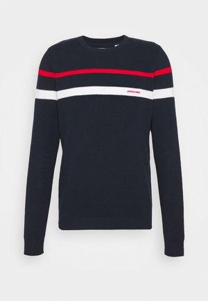 JJSMITH CREW NECK - Maglione - navy blazer