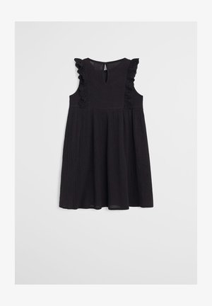 KOREA - Korte jurk - schwarz