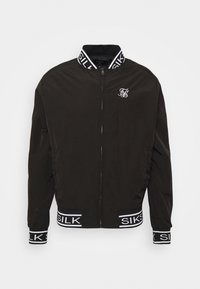 SIKSILK - CRUSHED  JACKET - Bomber Jacket - black - 3