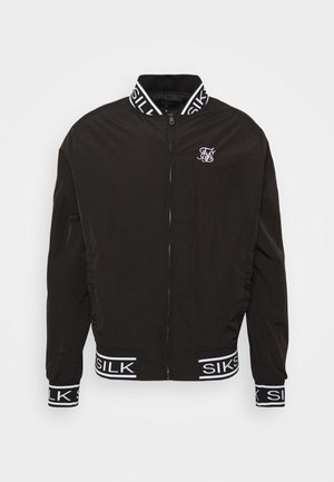 CRUSHED  JACKET - Bomber Jacket - black