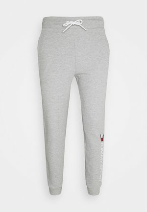 CUFF PANT LOGO - Pantalon de survêtement - grey