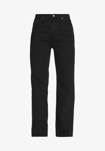 Jeans Straight Leg - black dark