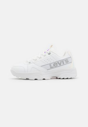 SOHO - Sneakers basse - white/metallic silver