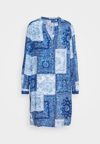 Korte jurk - blues