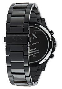 Armani Exchange - Chronograph - schwarz ip - 2