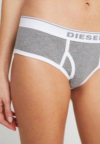 Diesel - UFPN-OXY PANTIES 3 PACK - Briefs - schwarz/grau - 3
