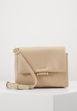 PCJULIA CROSS BODY - Across body bag - beige/gold