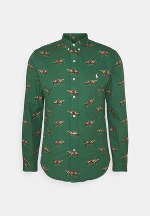 PRINTED CHINO - Camicia - green