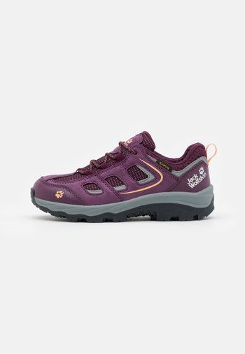 VOJO TEXAPORE LOW UNISEX - Hiking shoes - purple/coral