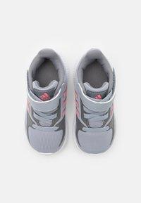 adidas Performance - RUNFALCON 2.0 UNISEX - Neutral running shoes - halo silver/super pop/grey three - 3